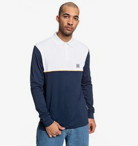 Brookledge - Long Sleeve Polo Shirt for Men  EDYKT03476