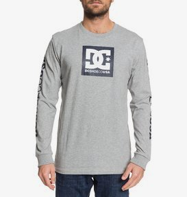 Square Star - Long Sleeve T-Shirt for Men  EDYZT03915