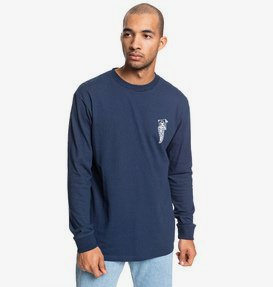 DC Pennant - Long Sleeve T-Shirt for Men  EDYZT04042