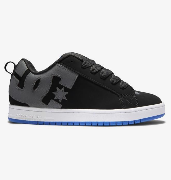 Chaussures en Cuir pour Homme 300529 DC Shoes Court Graffik