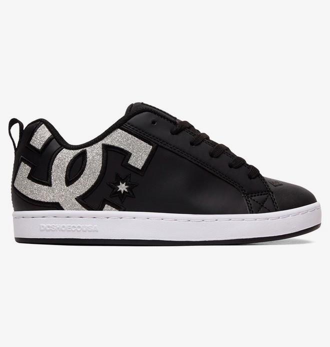 0 Court Graffik SE - Lederschuhe für Frauen Grau 301043 DC Shoes