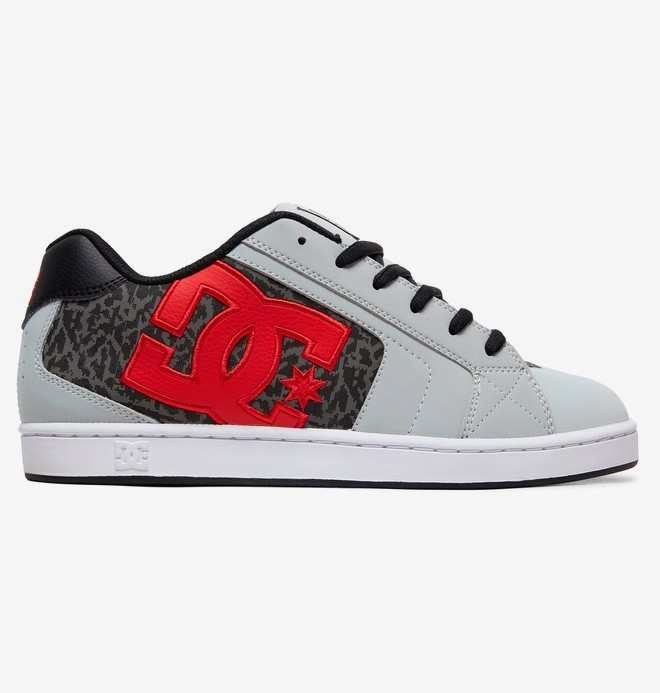 0 Net SE - Leather Shoes for Men Grey 302297 DC Shoes