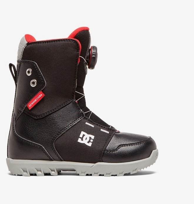 0 Youth Scout - Boots de snow BOA® pour Enfants Noir ADBO100006 DC Shoes