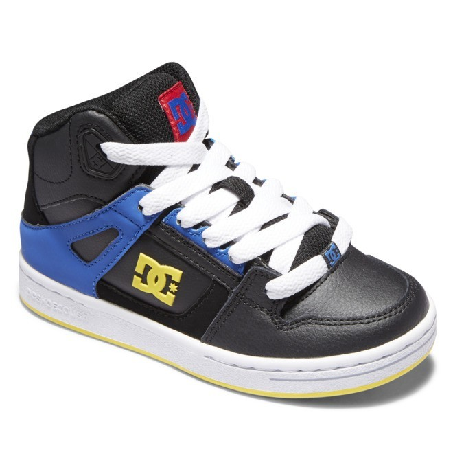 Pure Hi - Leather High-Top Shoes  ADBS100242
