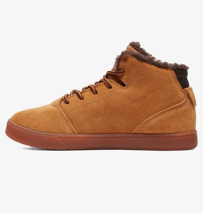 Crisis High WNT - Winterised Leather Shoes for Kids  ADBS100295