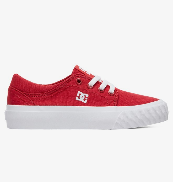 0 Trase TX - Shoes for Kids Red ADBS300083 DC Shoes