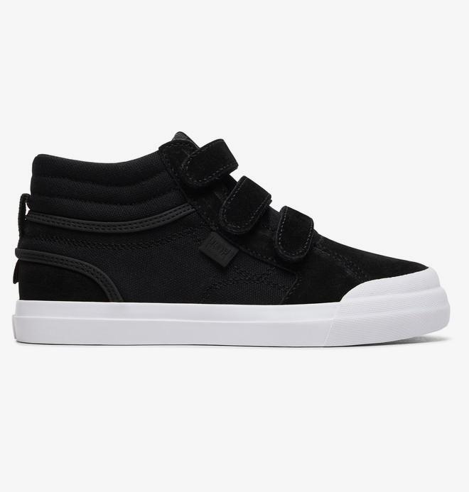 Evan Hi V - Leather High-Top Shoes for Kids  ADBS300339