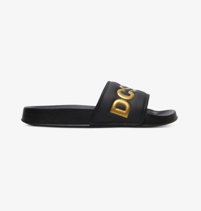 DC Slides SE - Suede Slides for Women  ADJL100020