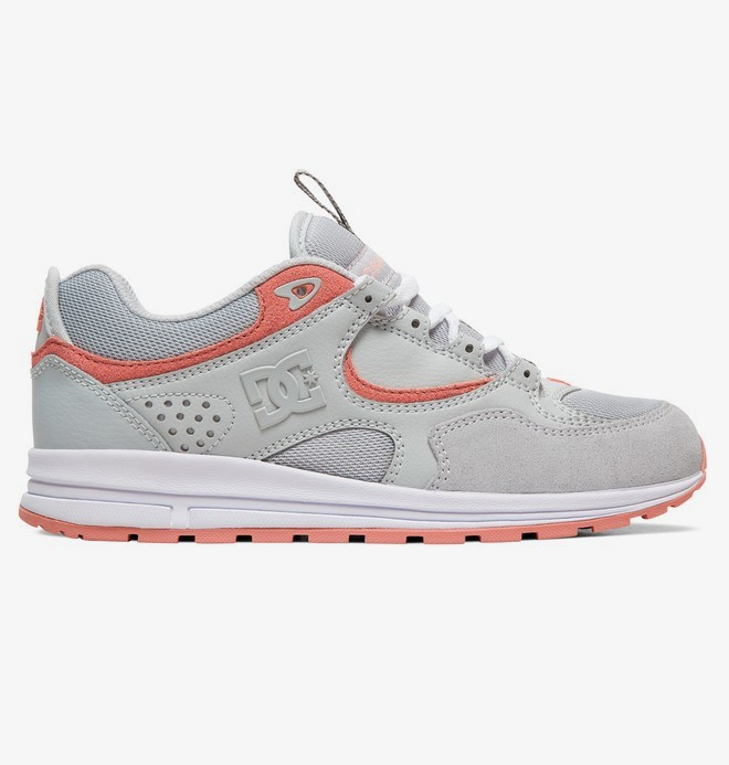 0 Kalis Lite - Leather Shoes for Women Gray ADJS100081 DC Shoes