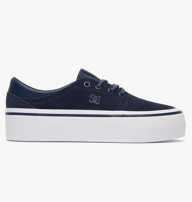 0 Trase Platform SE - Flatform Shoes Blue ADJS300187 DC Shoes