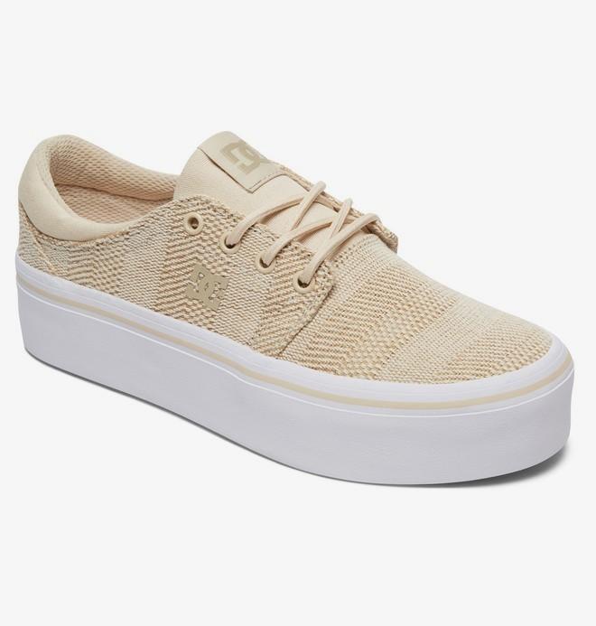 Trase Platform TX - Leather Flatform Shoes for Women  ADJS300196