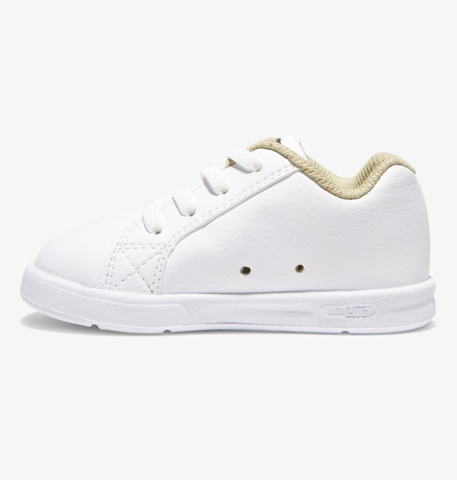 Court Graffik Elastic - Leather Elastic-Laced Shoes ADTS700036