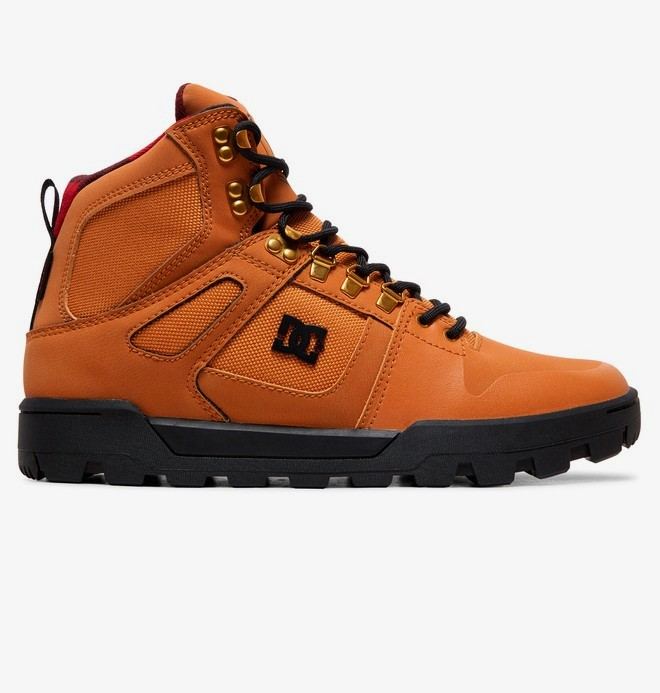 0 Pure WNT - Waterbestendige laarzen voor Heren Brown ADYB100006 DC Shoes