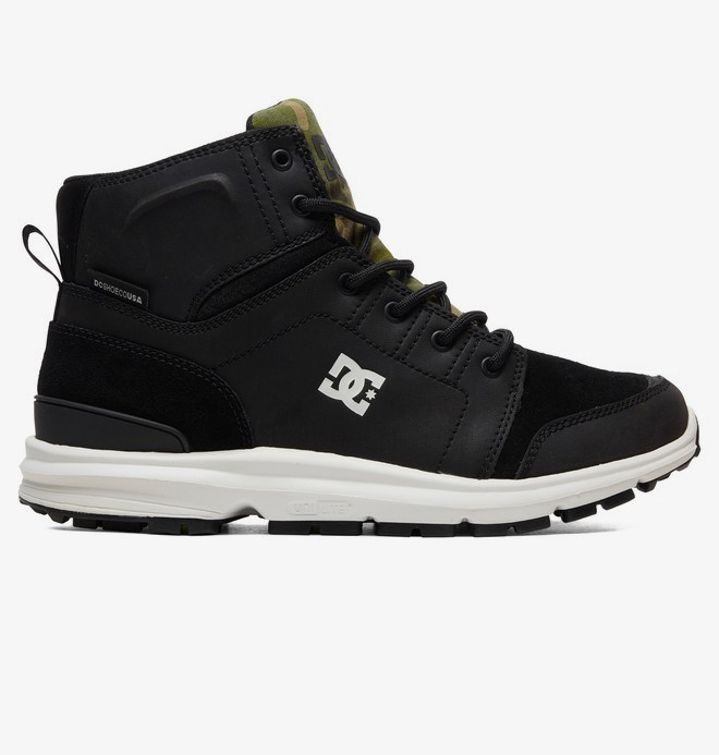 0 Torstein - Leather Winter Boots Gray ADYB700026 DC Shoes