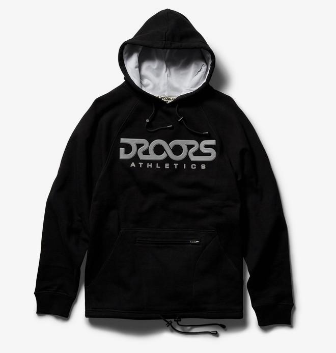 0 Droors Regulus - Sweat à capuche pour Homme Noir ADYFT03222 DC Shoes