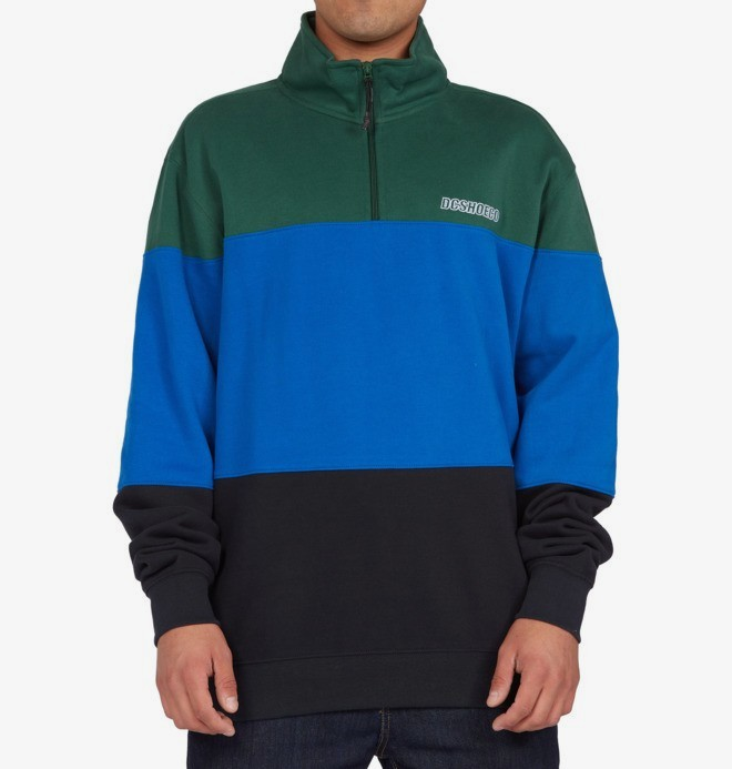 Downing - Half-Zip Mock Neck Sweatshirt for Men  ADYFT03287