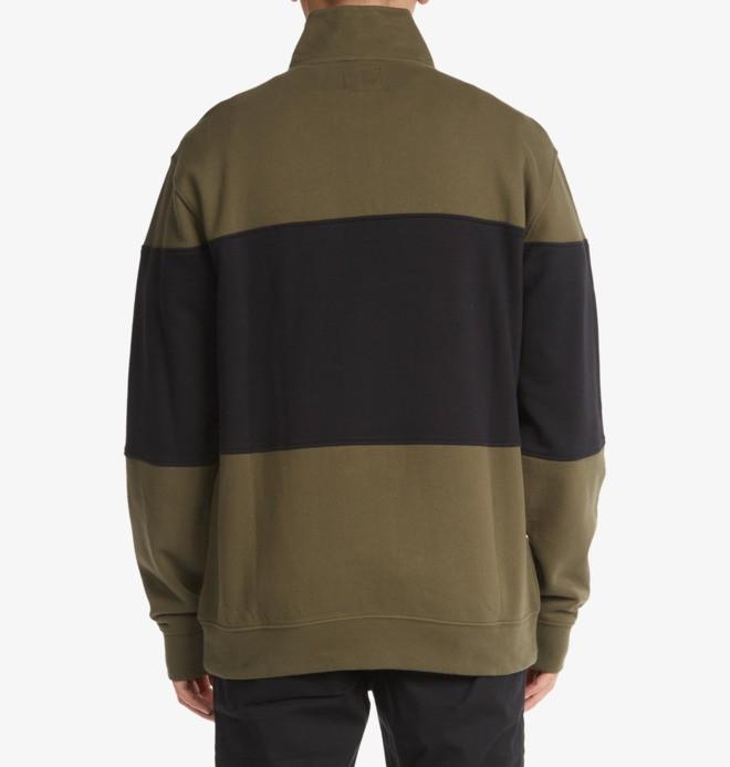 Sugar Baby16 L - Half-Zip Mock Neck Sweatshirt for Men  ADYFT03319