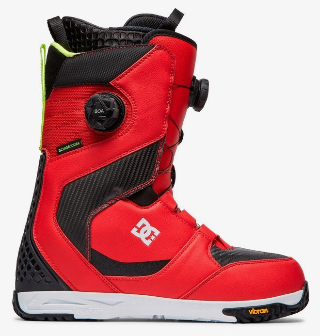 0 Shuksan - BOA® Snowboard Boots for Men Red ADYO100038 DC Shoes