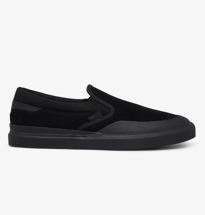 DC Infinite - Slip-On Leather Shoes for Men  ADYS100603