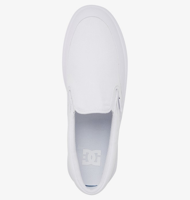 DC Infinite - Slip-On Leather Shoes  ADYS100603