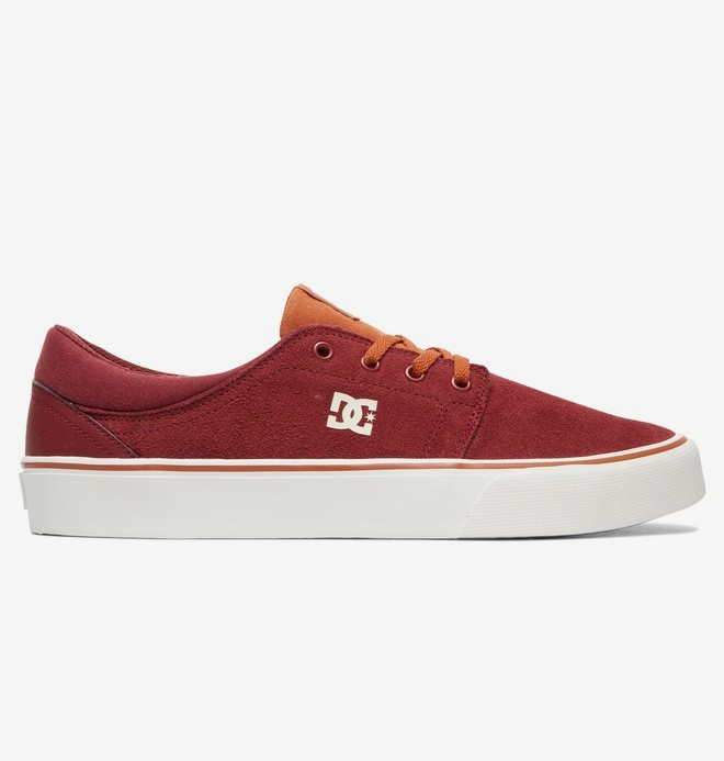 0 Trase SD - Shoes Red ADYS300172 DC Shoes