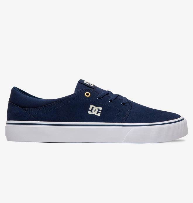 0 Trase - Suede Shoes for Men Blue ADYS300172 DC Shoes