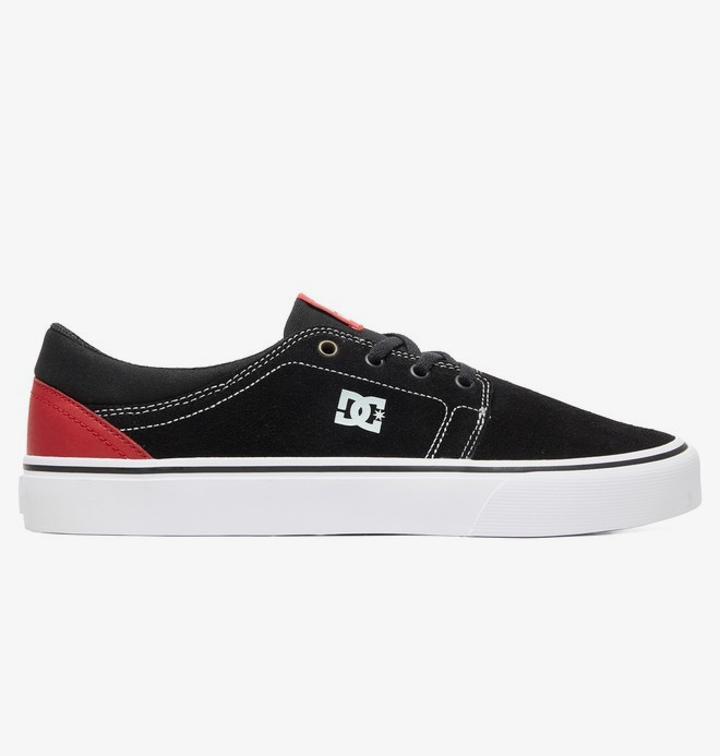 0 Trase - Suede Shoes for Men Black ADYS300172 DC Shoes
