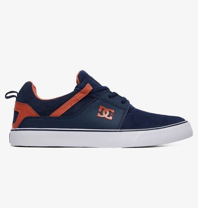 0 Heathrow Vulc - Shoes for Men Blue ADYS300443 DC Shoes