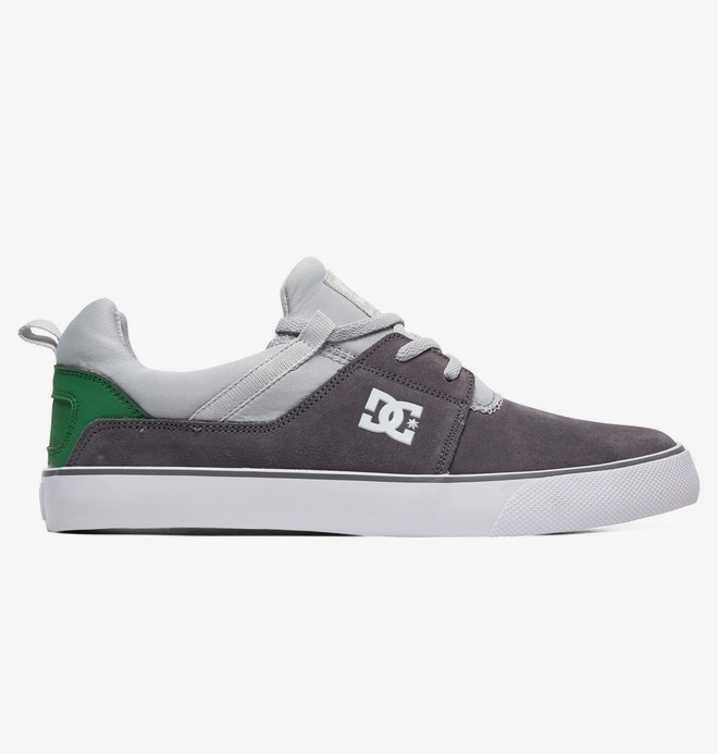 0 Heathrow Vulc - Shoes for Men Gray ADYS300443 DC Shoes