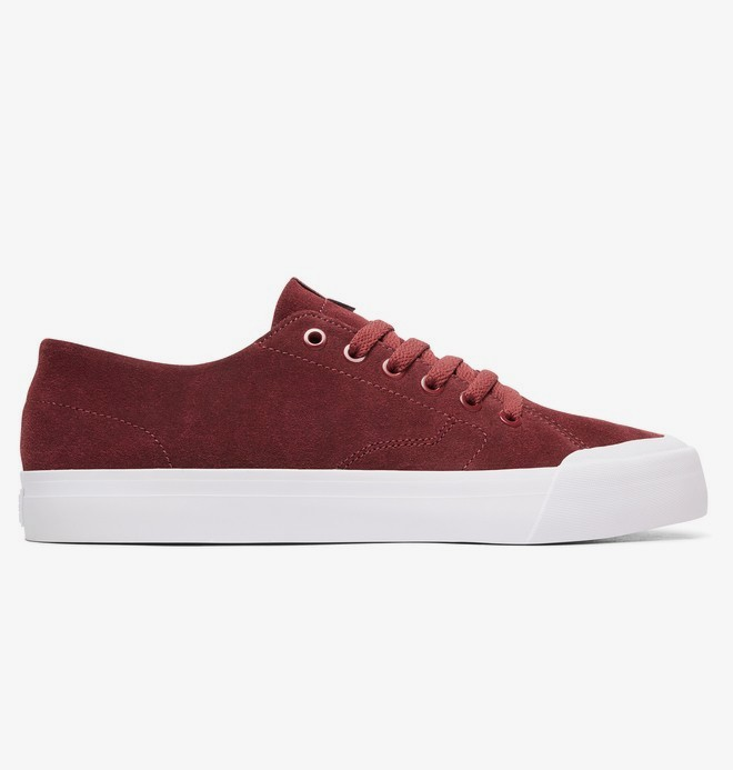 0 Evan Lo Zero S - Skate Shoes for Men Red ADYS300478 DC Shoes