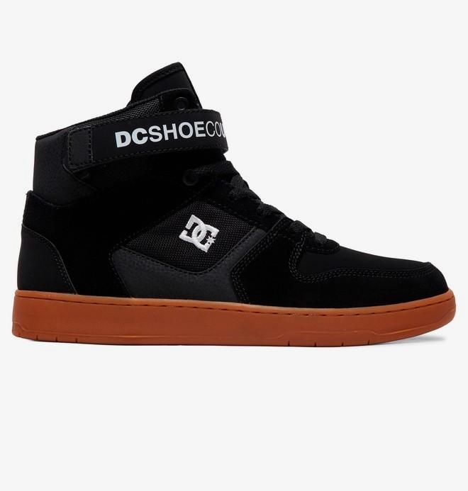0 Pensford - Zapatillas Altas para Hombre Negro ADYS400038 DC Shoes