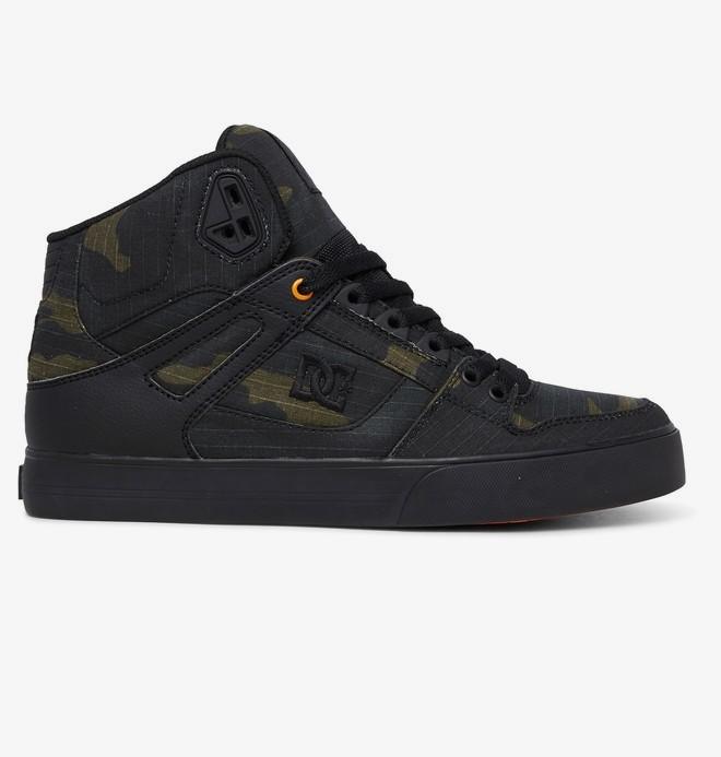0 Pure WC TX SE - Zapatillas Altas para Hombre Verde ADYS400046 DC Shoes