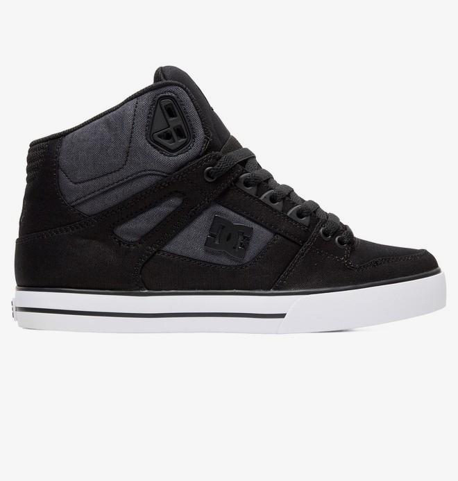 0 Pure WC TX SE - Zapatillas Altas para Hombre Negro ADYS400046 DC Shoes