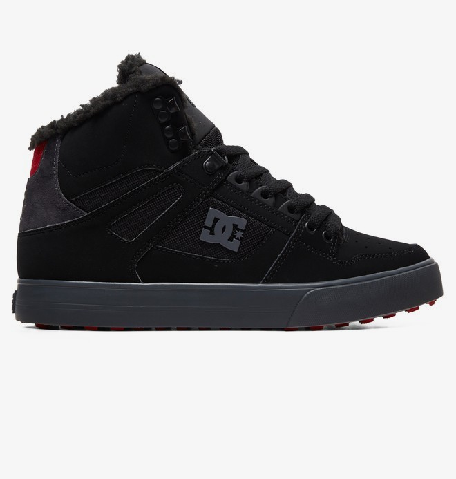 0 Pure WNT - Botas de invierno altas para Hombre Negro ADYS400047 DC Shoes