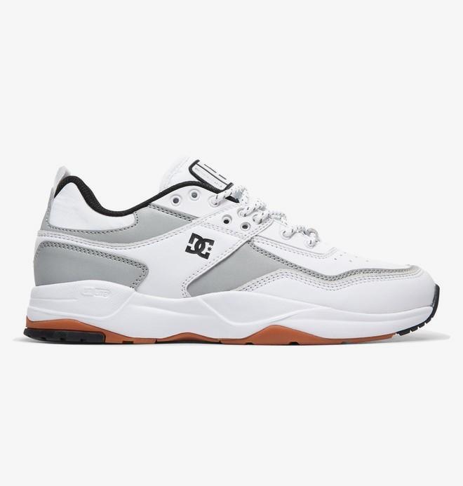 0 E.Tribeka LE - Leather Shoes for Men White ADYS700146 DC Shoes