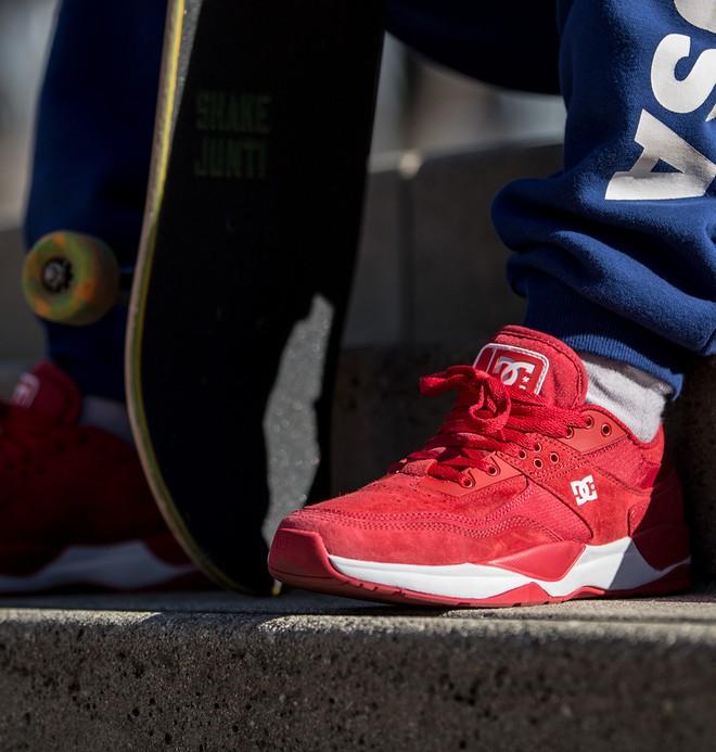 0 E.Tribeka - Baskets pour Homme Rouge ADYS700173 DC Shoes