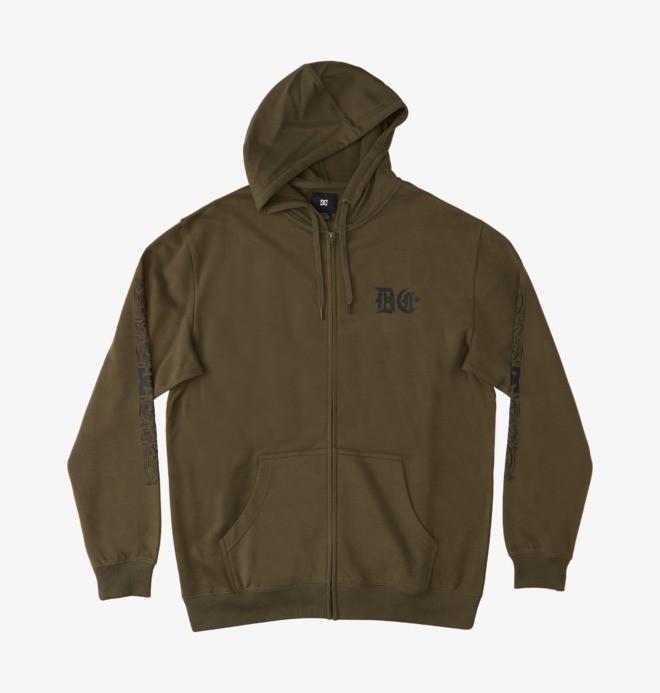 Hard Times - Zip-Up Hoodie for Men  ADYSF03073