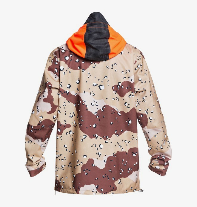 ASAP Shell Anorak Snowboard Jacket for Men  ADYTJ03011