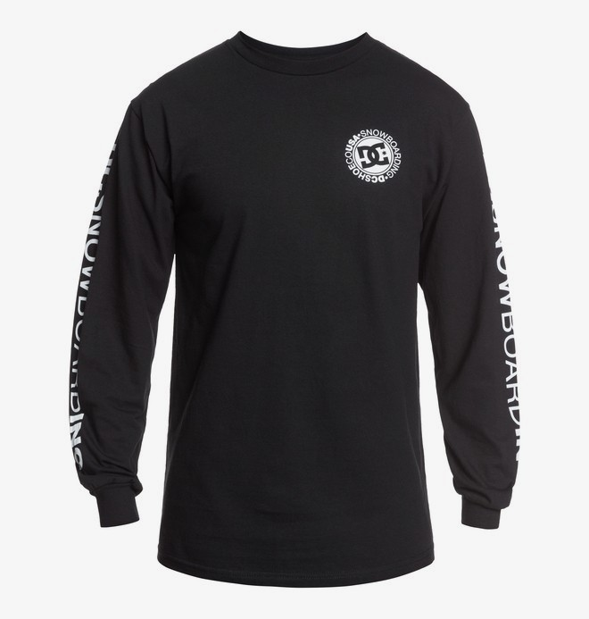 DC Snowboarding - Long Sleeve T-Shirt for Men  ADYZT04874