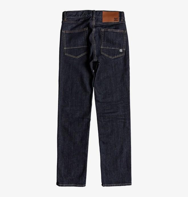 Worker Indigo Rinse - Straight Fit Jeans for Boys 8-16  EDBDP03050