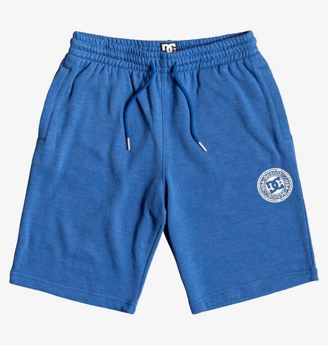 0 Rebel - Short en molleton pour Garçon Bleu EDBFB03021 DC Shoes