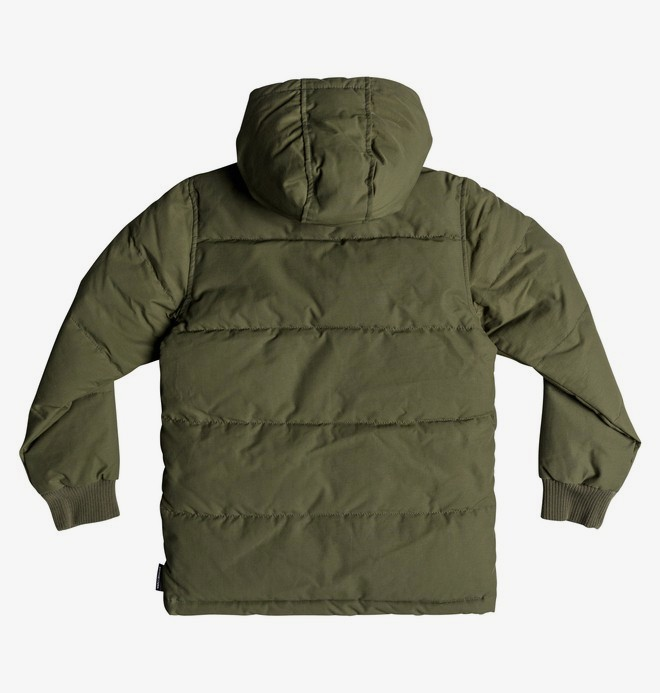 Aydon - Water-Resistant Hooded Puffer Jacket for Boys 8-16  EDBJK03036