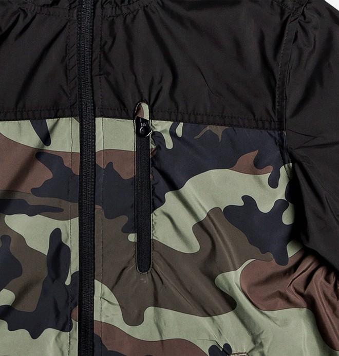 Dagup - Water-Resistant Hooded Windbreaker for Boys 8-16  EDBJK03050