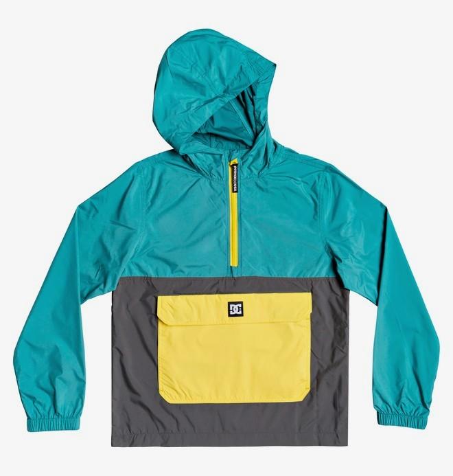 Sedgefield Packable - Water-Resistant Packable Hooded Half-Zip Anorak  EDBJK03055