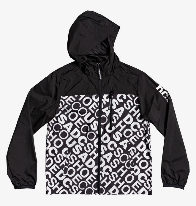 Dagup - Packable Water-Resistant Windbreaker  EDBJK03060