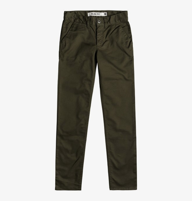 Worker - Slim Fit Chinos for Boys 8-16  EDBNP03021