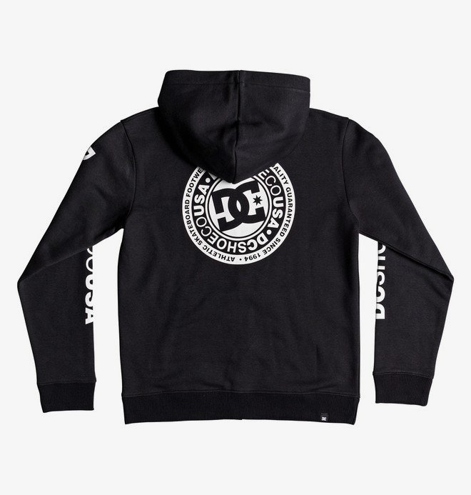 Circle Star - Zip-Up Hoodie  EDBSF03091