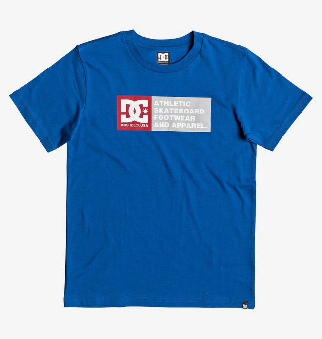 0 Vertical Zone - Camiseta para Chicos 8-16 Azul EDBZT03316 DC Shoes