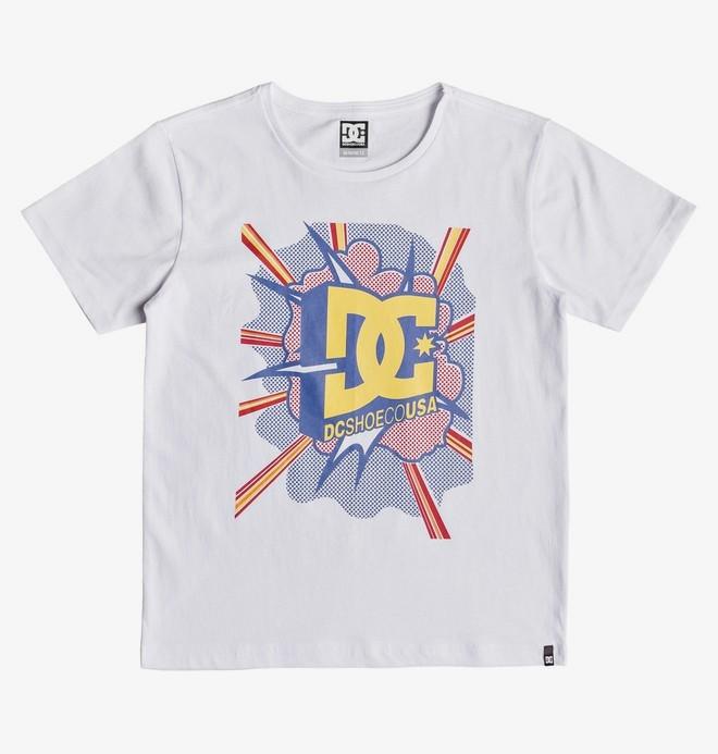 0 Blaster - Camiseta para Chicos 8-16 Blanco EDBZT03328 DC Shoes