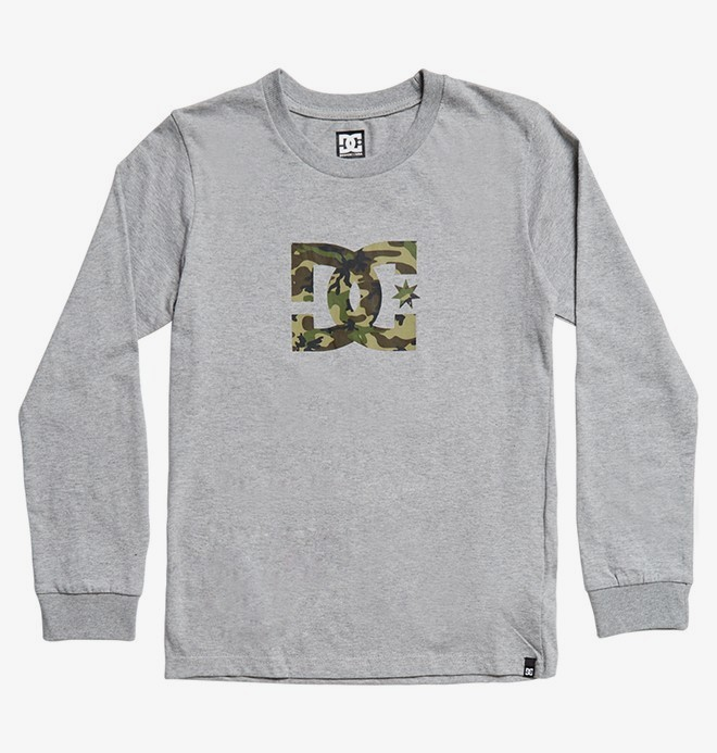 Star - Long Sleeve T-Shirt for Boys 8-16  EDBZT03359
